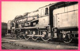 Locomotive Sud Ouest - Machine 4701 Devenue 240 A 701 Surchauffeur Houlet Compound 4 Cylindres - Paris Ivry - L. VILAIN - Trains