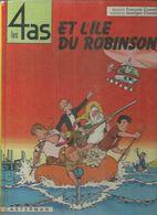 """LES 4 AS """" ET L'ILE DU ROBINSON """"   ( GRAENHALS / CHAULET ) - 4 As, Les"""