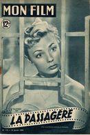 MON FILM ROMAN PHOTO 2 PAGES CENTRALES (LES AMOURS DE NOS VEDETTES) N° 179 LA PASSAGERE - Films