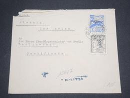 BOLIVIE - Enveloppe Pour L 'Allemagne En 1953 - L 12999 - Bolivie