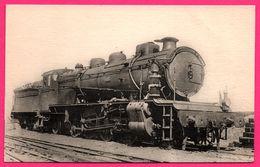 Locomotive Du Sud Ouest - Machine 5802 à Surchauffeur Schmidt - 2 Cylindres égaux Type MIKADO - Juvisy - H.M.P. - Trains