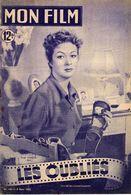 MON FILM ROMAN PHOTO 2 PAGES CENTRALES (LES AMOURS DE NOS VEDETTES) N° 185 LES OUBLIES - Cinema/ Televisione