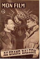 MON FILM ROMAN PHOTO 2 PAGES CENTRALES (LES AMOURS DE NOS VEDETTES) N° 186 AU GRAND BALCON - Kino/TV