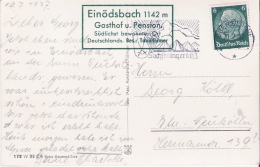 Sw  Ansichtskarte  1937  Einödsbach - Allemagne