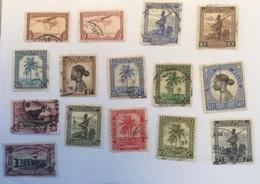 Lot De 15 Timbres Oblitérés Du Congo Belge - 1923-44: Oblitérés