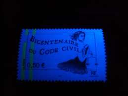 2/ France : Variété 2004 N° 3644  Phosphore Décalé 2bdes à Gauche Neuf XX Cote 15 € - Errors & Oddities