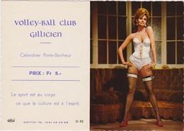 CALENDRIER PUBLICITAIRE SEXY -  GILLY  CHARLEROI BELGIQUE 1969  - Ursula Andress - Calendars