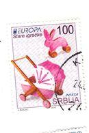 100 Dinara - EUROPA - 2015 - Beau Timbre - Serbie