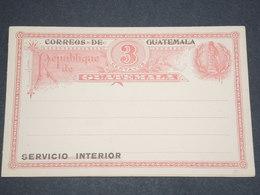 GUATEMALA - Entier Postal Non Voyagé - L 13008 - Guatemala