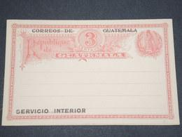 GUATEMALA - Entier Postal Avec Réponse Non Voyagé - L 13009 - Guatemala