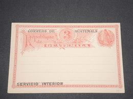 GUATEMALA - Entier Postal Avec Réponse Non Voyagé - L 13010 - Guatemala