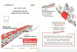 DOCUMENT LETTRE A RENVOYER A MICHELIN APRES AVOIR DONNE LES APPRECATIONS SUR LES RESTO POUR LE GUIDE ROUGE 1967 ? - Vecchi Documenti