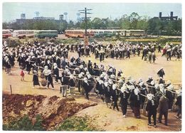 Cpsm Asie, Japon ? ( Tsuchimochi Hinokishin - The Holy Labor Of Carrying Soil ) - Cartes Postales