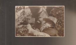 RARE CARTE PHOTO D'UN PHOTOGRAPHE à RABAT LE PAMPERO DE CHELLAH - Photographs