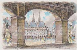 Carte Postale       BARRE  DAYEZ       CHARLEVILLE   La Place Ducale Et Les Arcades    2263  A - Charleville