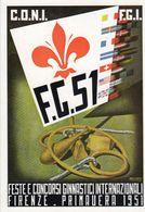 Firenze 1951 - Feste E Concorsi Ginnici Internazionali - - Atletica