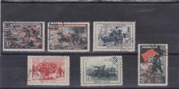 RUSSIE RUSSIA URSS  :   Y Et T  977 à 982  Michel  953 à 956  (o) - Oblitérés