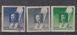 RUSSIE RUSSIA URSS  :   Y Et T   PA  67 à 69   (o) - Oblitérés