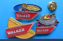3 Pin's, WALKER, Raclette, Fromage, Suisse - Food