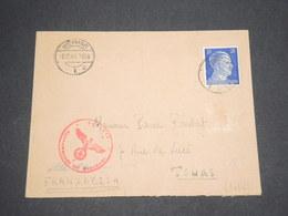 ALLEMAGNE - Enveloppe De Weimar Pour La France En 1943 - L 13015 - Allemagne