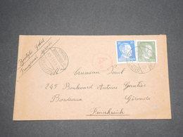 ALLEMAGNE - Enveloppe De Mulhouse Pour La France En 1944 - L 13016 - Allemagne