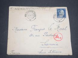 ALLEMAGNE - Enveloppe De Russelsheim Pour La France En 1944 - L 13017 - Allemagne