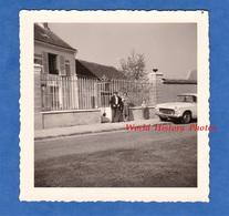 Photo Ancienne - MILLY - 1962 - Belle Maison à Identifier - Automobile Peugeot - Automobili