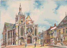 Carte Postale       BARRE  DAYEZ     BAR LE DUC   L'église  St Pierre Et Le Musée     Illustrateur  BARDAY   2288  A - Bar Le Duc