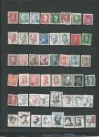 Lot De  48 Timbres Oblitérés De Tchecoslovaquie, à Trier  -  Po530 - Oblitérés