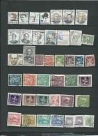 Lot De  41 Timbres Oblitérés De Tchecoslovaquie, à Trier  -  Po231 - Oblitérés