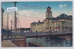 LITUANIE- MEMEL- BOERSE UND BOERSENBRUECKE - Lithuania