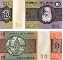 Brésil 10 CRUZEIROS Pick 193e NEUF - Brazilië