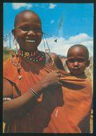 *African Mother And Child* Circulada 1990. - Tanzanía