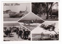 Portugal Praia De Mira En 1966 Pêche Pêcheurs Bateaux Plongeoir Edtabacaria Nilo Coimbra - Coimbra