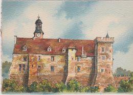 Carte Postale       BARRE  DAYEZ    MONTLUCON    Le Chateau   XV ET XVI Eme     Illustrateur  BARDAY   2296  A - Montlucon