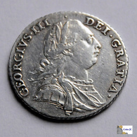 Great Britain - 1 Shilling - 1787 - 1662-1816 : Acuñaciones Antiguas Fin XVII° - Inicio XIX° S.