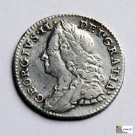 Great Britain - 6 Pence - 1758 - 1662-1816 : Acuñaciones Antiguas Fin XVII° - Inicio XIX° S.