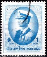THAILAND 1996 King Rama IX In Admiral's Uniform - 1b - Blue FU - Thailand