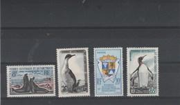 TAAF Yvert  N°  13C * + 14 * + 15 * + 17 * Neufs Avec Charnière  - Cote Divisée Par 10 - Unused Stamps