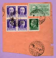 Parte Di Busta Spedita Da Incrociatore Trento 1941 (Storia Postale) - 1900-44 Vittorio Emanuele III