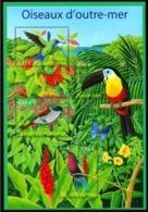 Année 2003 - Feuillet N° 56 - T-P N° 3548 à 3551 - Nature De France - Oiseaux D'outre-mer Colibris, Toucan, Terpsiphone - Ungebraucht