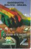 BOLIVIA - Gasoducto Bolivia-Brazil 2, Cotas Telecard Bs. 5, 01/99, Used - Bolivia