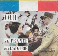 General De Gaulle 33t. 17cm Souple + Livret *discours Pour Le Referendum De L'independance De L'Algerie* - Special Formats