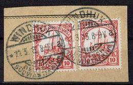 Deutsch-Südwestafrika // Kartenausschnitt - Colony: German South West Africa