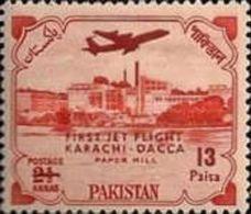 PAKISTAN MNH (**) STAMPS   - The 1st Karachi-Dacca Jet Flight-1961 - Pakistan