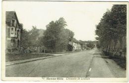 Hamme-Mille. Chaussée De Louvain. - Beauvechain