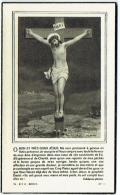 Doodsprentje/Image Mortuaire. Swalus/Genaert. Tourneppe 1897/Uccle 1953. - Devotion Images