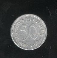 50 Pfennig  Allemagne/germany 1935 A - [ 4] 1933-1945 : Third Reich