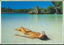 Lot 2 - Topless, Naked Nude Girls Womens Nouvelle Caledonie DOM TOM Solaris Noumea - Nuova Caledonia