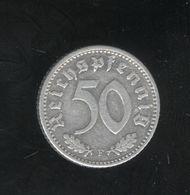 50 Pfennig  Allemagne/germany 1935 F - [ 4] 1933-1945 : Third Reich